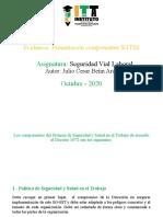 Presentación componentes SGTSS - Julio Cesar Betin Arce