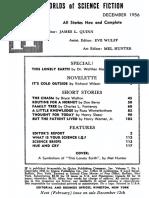 Estratto di IF Worlds of Science Fiction dicembre 1956