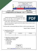 examen francais    2014 4AP T3