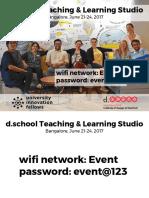 Day 1 slides - TLS India June 2017