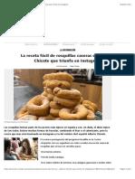La receta fácil de rosquillas caseras de Alberto Chicote que triunfa en Instagram