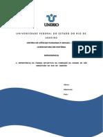 A IMPORTÂNCIA DA FRANÇA ANTARTICA NA FUNDAÇÃO DA CIDADE DE SÃO SEBASTIÃO DO RIO DE JANEIRO