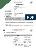 PROGRAMACION CURRICULAR ASISTENCIA EN USUARIO ONCOLOGICO