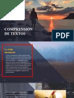 COMPRENSIÓN DE TEXTOS - tema 5