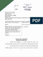 Family of Janel R. Miller lawsuit