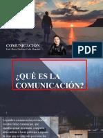 TEMA 01 - LA COMUNICACIÓN