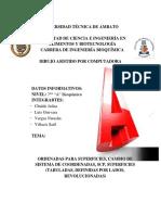 Informe GRUPO A