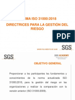 ISO 31000 2018 VS ISO 31000  2009