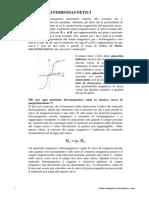 Materiali ferromagnetici