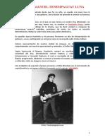 Biografia musical Victor Tenempaguay