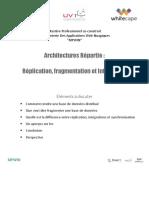Architecture Répartie fragmentation Replication et Intégration pdf
