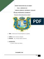 ANALISIS P.DE LEGALIDAD