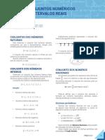 002-Matemática-1-Conjunto Numérico e Intervalos Reais