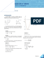 009-Matemática-1-Função do 2 Grau-Máximos e mínimos