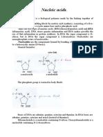 Nucleic Acids .doc