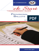 EAC Quick Start-Provisional Ballots