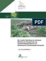 Forst Brandenburg - LFE_Praxisleitfaden_Schwarzwildfang