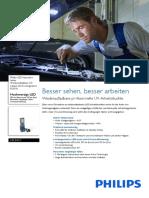 Datenblatt Handlampe Philips RCH31UV lpl34uvx1_pss_deude