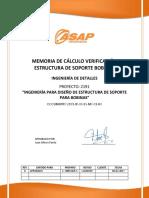 MDC Estructura Soporte Bobinas