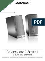 Bedienungsanleitung Lautsprecher Bose Companion 2.pdf