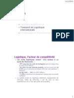 2-Logistique Et Transport