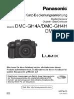 Bedienungsanleitung Lumix GH4