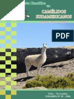 Revista en Camelidos Sudamericanos 2016