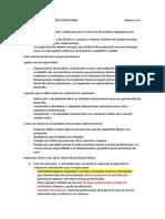 DESARROLLO DE LA CARRERA PROFESIONAL                                                                    Informe oral