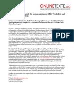 www.onlinetexte.com | Pressemeldung 2011-06 | Textservice informiert