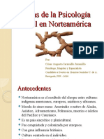 3 Etapas de la Psicología Social en Norteamerica