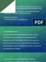 POWER POINT - SISTEMATIZACION -OSCAR JARA HOLLIDEY