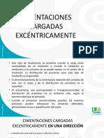 CIMENTACIONES CARGADAS EXCENTRICAMENTE