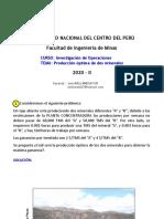 2_Ejercicio_Producción öptima de dos minerales