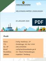 30 - Studi Kelayakan - Presentasi Studi Kelayakan Aspek Lingkungan (23 Janu