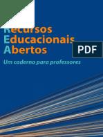 Recursos Educacionais Abertos. Um caderno para professores