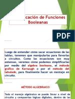 7 Simplificación de Funciones Booleana Diapositivas
