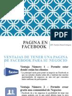 Pagina en Facebook.pptx