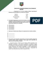 TALLER 1 Fundamentos de la gestión integral de Residuos Sólidos