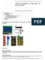 3D Printer Kit RAMPS 1.4 + Mega 2560 + 5x A4988 + LCD 12864 Smart Controller - Keyestudio Wiki