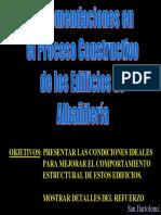 C16 Construcción Albañilería Confinada