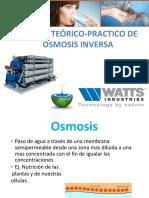 I CURSO TEÓRICO-PRACTICO DE OSMOSIS INVERSA (WITH KEY)