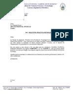 OF. 422.11 SOLICITUD PRACTICA DE CAMPO