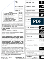 Honda Accord 1998 - 2002 Service Manual COMPLETE on f20b vtec, f22b vtec, honda civic vtec, d15b7 vtec, d16z6 vtec, f22b1 vtec, h22a vtec, b18b1 vtec, 2.3l vtec, d16y7 vtec, b20a5 vtec,