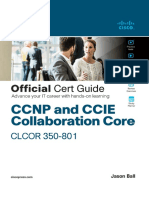 CCNP and CCIE Collaboration Core CLCOR 350-801 Official Cert Guide