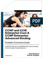CCNP and CCIE Enterprise Core CCNP Advanced Routing Portable Command Guide All ENCOR (350-401) and ENARSI (300-410)