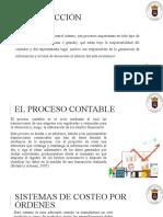 PROCESO DE INFORMACIÓN DE LOS SISTEMA DE COSTO