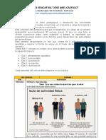 FICHA DE ACTIVIDADES 3 SEMANA - MIERCOLES