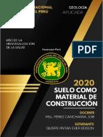 suelo como material de construcción