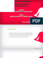 Ordenamiento Territorial en el Perú