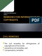 REMEDIES-INFRINGMENT-COPYRIGHT